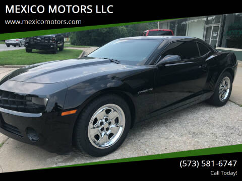 2013 Chevrolet Camaro for sale at MEXICO MOTORS LLC in Mexico MO
