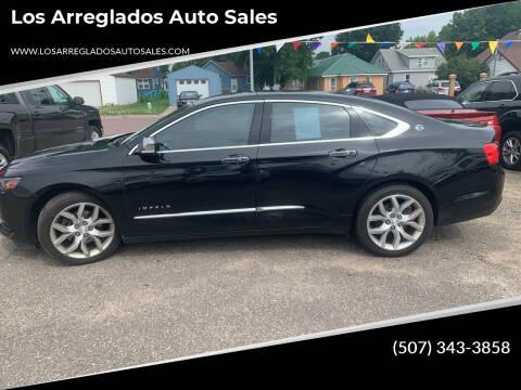 2016 Chevrolet Impala for sale at Los Arreglados Auto Sales in Worthington MN