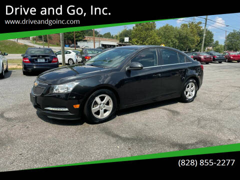 2013 Chevrolet Cruze for sale at Drive and Go, Inc. in Hickory NC