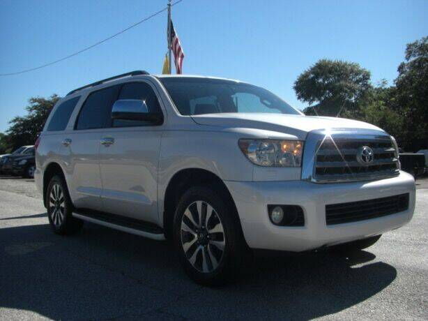2008 Toyota Sequoia for sale at Manquen Automotive in Simpsonville SC