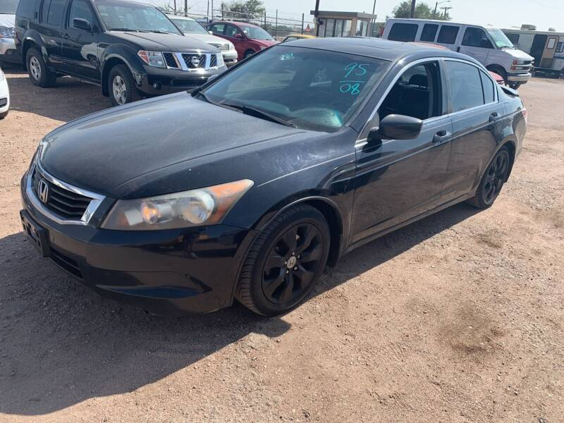 2008 Honda Accord for sale at PYRAMID MOTORS - Fountain Lot in Fountain CO