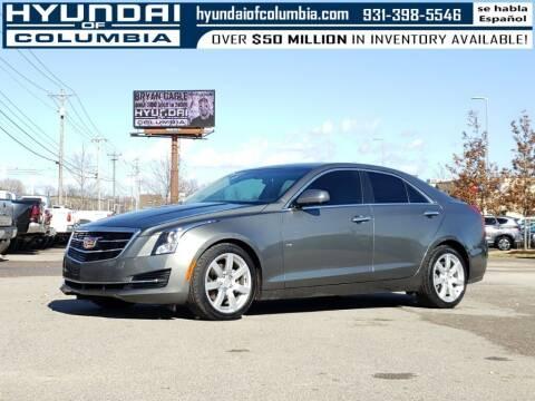 2016 Cadillac ATS for sale at Hyundai of Columbia Con Alvaro in Columbia TN
