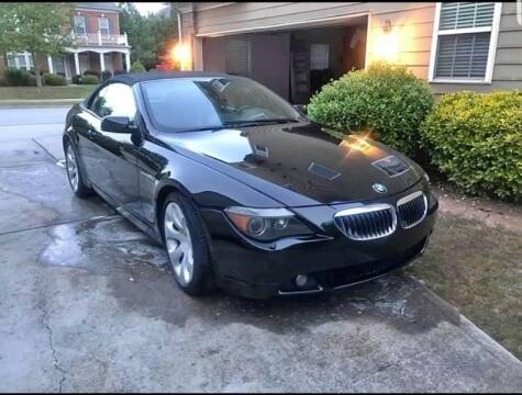 2007 BMW 6 Series for sale at GA Auto IMPORTS  LLC in Buford GA