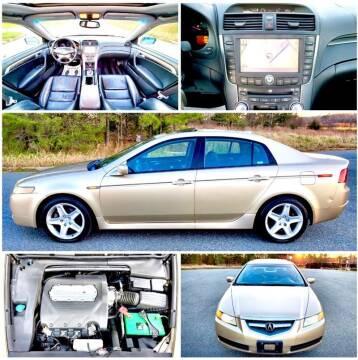 2005 Acura TL for sale at Apex Autos Inc. in Fredericksburg VA