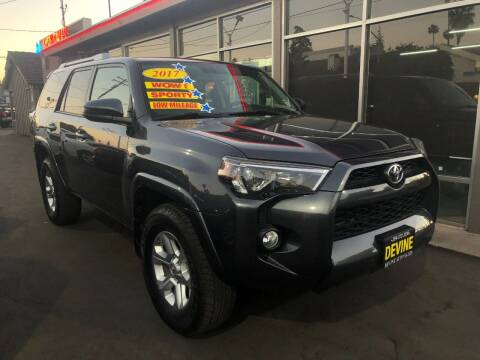 2017 Toyota 4Runner for sale at Devine Auto Sales in Modesto CA