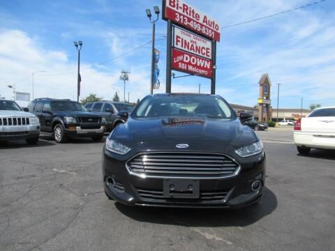 2016 Ford Fusion for sale at Bi-Rite Auto Sales in Clinton Township MI