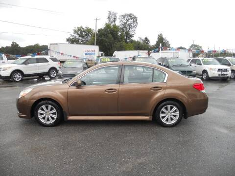 2011 Subaru Legacy for sale at All Cars and Trucks in Buena NJ