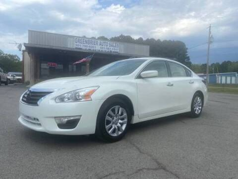 2015 Nissan Altima for sale at Greenbrier Auto Sales in Greenbrier AR