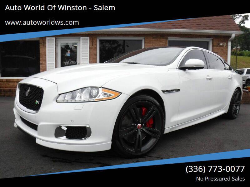 2015 Jaguar XJR for sale at Auto World Of Winston - Salem in Winston Salem NC