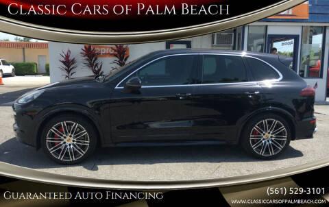 2016 Porsche Cayenne for sale at Classic Cars of Palm Beach in Jupiter FL