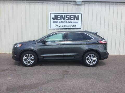 2020 Ford Edge for sale at Jensen's Dealerships in Sioux City IA