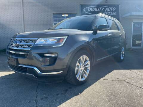 2018 Ford Explorer for sale at Quality Auto of Collins in Collins MS