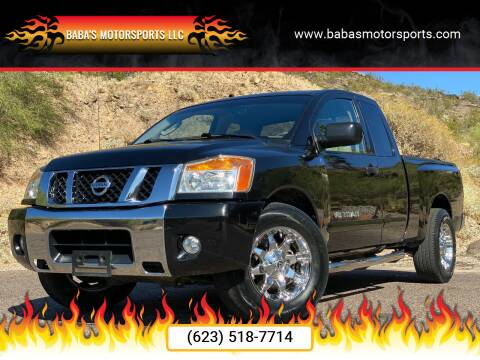 2011 Nissan Titan for sale at Baba's Motorsports, LLC in Phoenix AZ