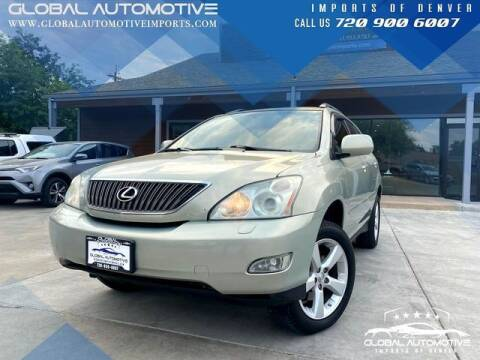 2007 Lexus RX 350 for sale at Global Automotive Imports of Denver in Denver CO