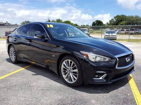 2018 Infiniti Q50 for sale at GATOR'S IMPORT SUPERSTORE in Melbourne FL