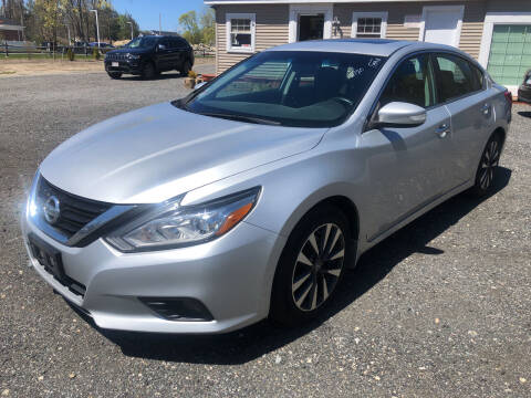 2017 Nissan Altima for sale at AUTO OUTLET in Taunton MA