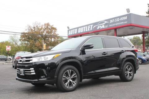 2017 Toyota Highlander for sale at Deals N Wheels 306 in Burlington NJ