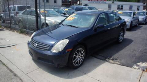 2006 Infiniti G35 for sale at GM Automotive Group in Philadelphia PA