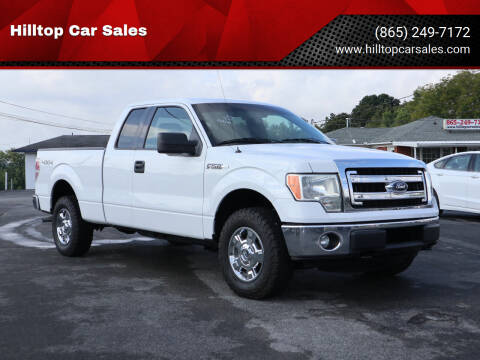 2014 Ford F-150 for sale at Hilltop Car Sales in Knox TN