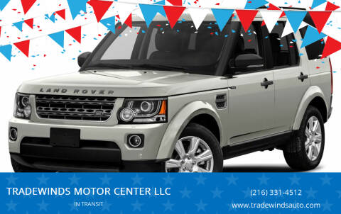 2014 Land Rover LR4 for sale at TRADEWINDS MOTOR CENTER LLC in Cleveland OH