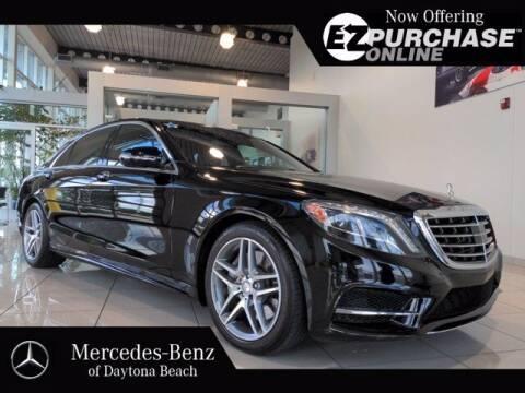 2014 Mercedes-Benz S-Class for sale at Mercedes-Benz of Daytona Beach in Daytona Beach FL