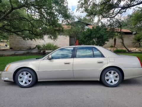 2007 Cadillac DTS for sale at Progressive Auto Plex in San Antonio TX