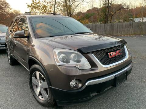 2011 GMC Acadia for sale at D & M Discount Auto Sales in Stafford VA
