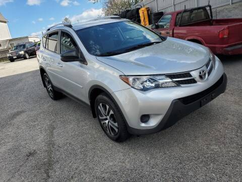 2013 Toyota RAV4 for sale at Fortier's Auto Sales & Svc in Fall River MA