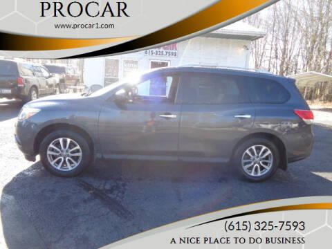 2014 Nissan Pathfinder for sale at PROCAR LLC in Portland TN