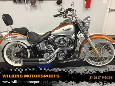 2014 Harley-Davidson Softail Deluxe for sale at WILKINS MOTORSPORTS in Brewster NY