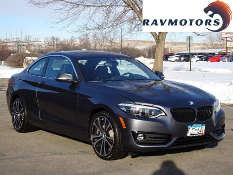 2020 BMW 2 Series for sale at RAVMOTORS in Burnsville MN