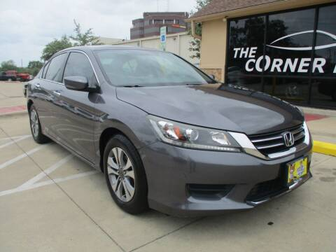 2014 Honda Accord for sale at Cornerlot.net in Bryan TX