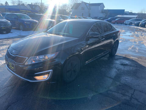 2012 Kia Optima Hybrid for sale at PAPERLAND MOTORS in Green Bay WI