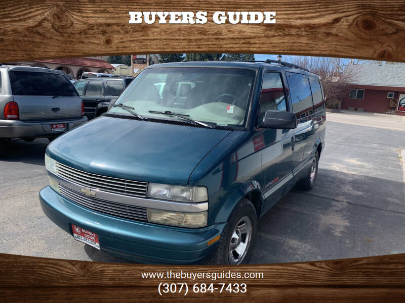 2001 Chevrolet Astro for sale in Buffalo, WY