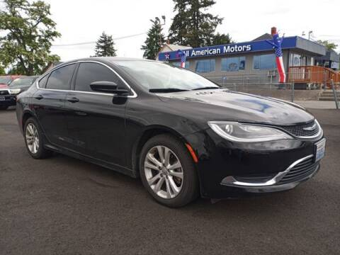 2015 Chrysler 200 for sale at All American Motors in Tacoma WA