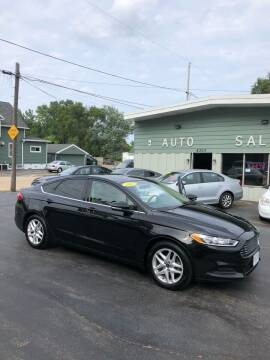 2013 Ford Fusion for sale at SHEFFIELD MOTORS INC in Kenosha WI