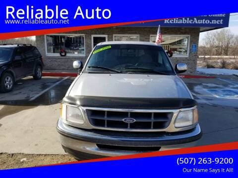 1998 Ford F-150 for sale at Reliable Auto in Cannon Falls MN
