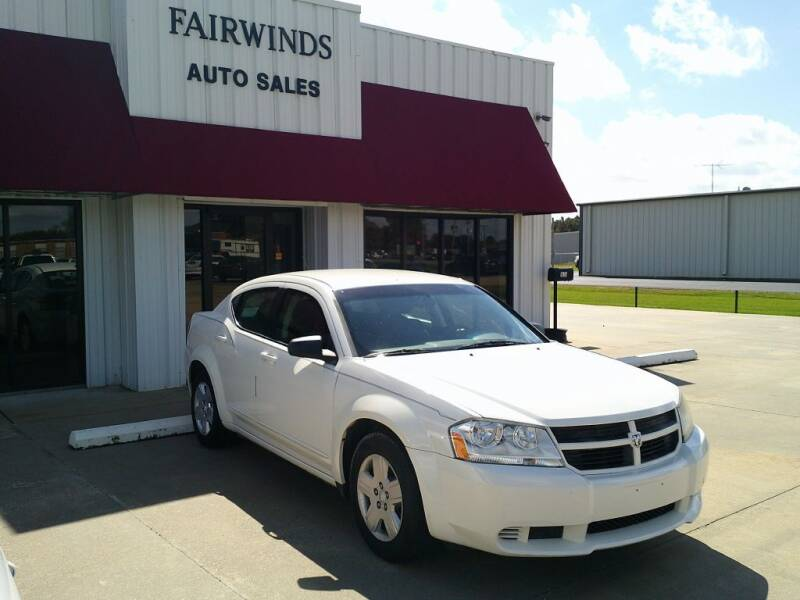 2009 Dodge Avenger for sale at Fairwinds Auto Sales in Dewitt AR
