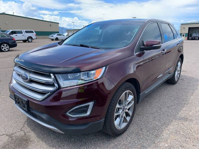 2018 Ford Edge for sale at Chubbuck Motor Co in Ordway CO