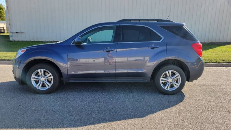 2014 Chevrolet Equinox for sale at TNK Autos in Inman KS