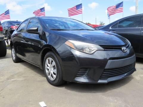 2015 Toyota Corolla for sale at DK Auto Sales in Hollywood FL