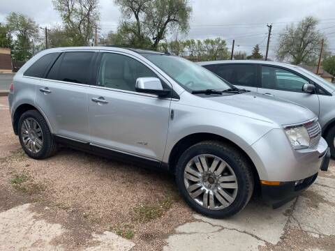 2010 Lincoln MKX for sale at PYRAMID MOTORS AUTO SALES in Florence CO