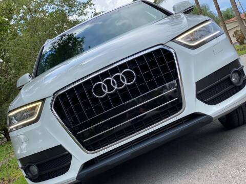 2015 Audi Q3 for sale at HIGH PERFORMANCE MOTORS in Hollywood FL