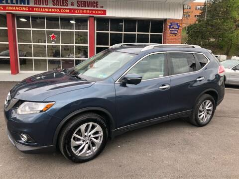 2015 Nissan Rogue for sale at Fellini Auto Sales & Service LLC in Pittsburgh PA