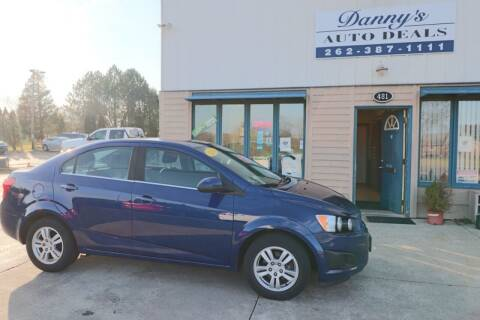 2014 Chevrolet Sonic for sale at Danny's Auto Deals in Grafton WI