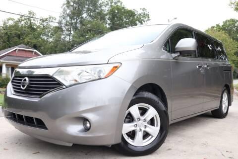 2013 Nissan Quest for sale at E-Z Auto Finance in Marietta GA