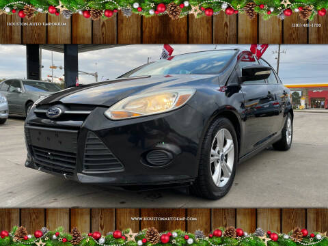 2013 Ford Focus for sale at Houston Auto Emporium in Houston TX