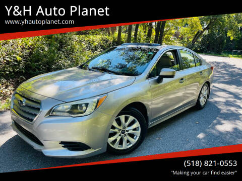 2015 Subaru Legacy for sale at Y&H Auto Planet in West Sand Lake NY