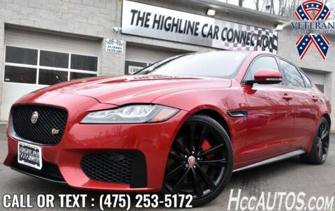 2017 Jaguar XF for sale at The Highline Car Connection in Waterbury CT