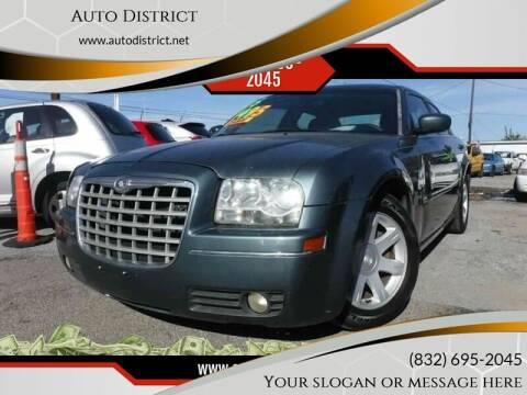 2005 Chrysler 300 for sale at Auto District in Baytown TX